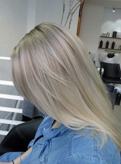 Cold toned blonde