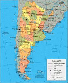 Argentina - Mapas de Argentina