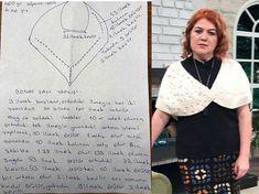 İncili Omuz Şalı Modeli - Sibel Kavaklıoğlu 3