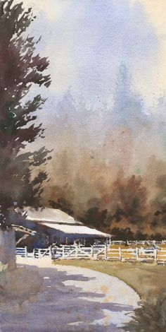 Michael Reardon, Carmel, watercolor