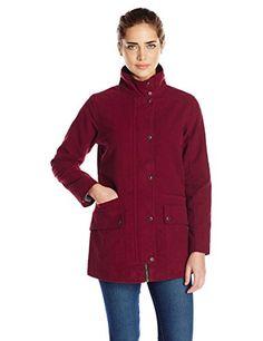 KAVU Women's Edgewood Jacket Burgundy X-Large