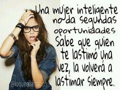 una mujer inteligente