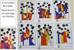 Calder - Autour de, à la manière de... - Galerie - Forums-enseignants-du-primaire