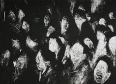 Pics Art, Horror Art, Art Plastique, Surreal Art, Graphic, Dark Art, Art Inspo, Printmaking, Monochrome