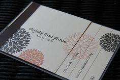 Booklet Wedding Invitation Wedding Invitations, Invites, Booklet, Special Events, Photo Galleries, Wedding Decorations, Reception, Wedding Day, Stationery