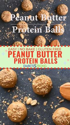 How to make homemade Peanut Butter Protein Balls - These low-carb no-bake and gluten-free protein balls are one of my favorite healthy snacks. They are so delicious so satisfying and SO easy to make! A great healthy snacks for the whole family. Low Calorie Peanut Butter, Peanut Butter Snacks, Gluten Free Peanut Butter, Peanut Butter Protein, Protein Bites, High Protein Snacks, High Protein Low Carb, Protein Foods, Good Low Carb Snacks