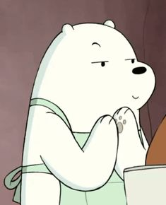 ice bear we bare bears Ice Bear We Bare Bears, We Bear, Funny Bears, Cute Bears, Desenhos Cartoon Network, Bear Gif, Wallpaper Animes, We Bare Bears Wallpapers, Cartoon Profile Pics