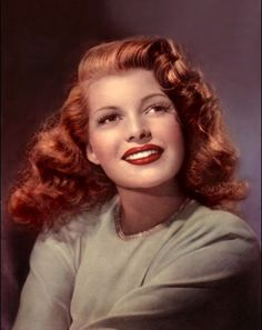 Really. And retro vintage redhead