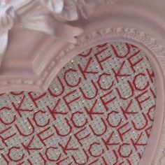 Fuck Fuck Fuck Heart Frame Kit   Subversive Cross Stitch
