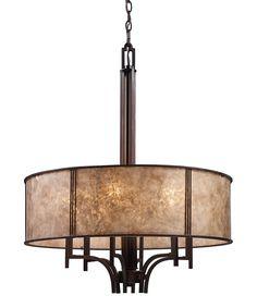 Loving this Aged Bronze Six-Light Barringer Pendelier on #zulily! #zulilyfinds