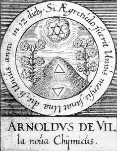 ALQUIMIA VERDADERA: Emblema 53. Arnau de Vilanova, químicoSi la enfermedad data de un mes, se cura en un día; si data de un año, tarda doce días.