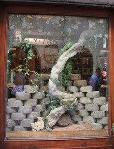 Cheese shop in Tuscany