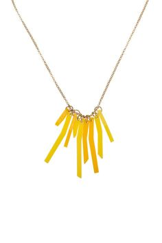 Fries Necklace, £30 http://www.tattydevine.com/shop/featured/new-in/fries-necklace.html