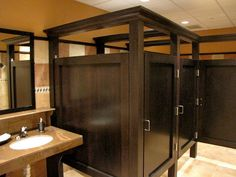 Amazing Public Bathroom Design Ideas 18 - Home Interior and Design Bathroom Stall, Office Bathroom, Small Bathroom, Lodge Bathroom, Relaxing Bathroom, Natural Bathroom, Washroom, Modern Bathroom, Commercial Bathroom Ideas
