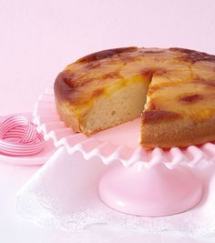 Dairy-free: Pineapple upside-down cake