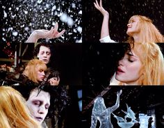 Edward Scissorhands, Ice Dance