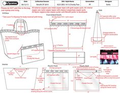 240ca9c5e57a how to make a tech pack for fashion - Google Search