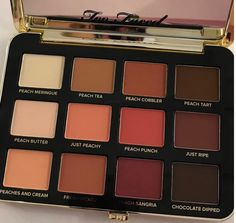 About That Too Faced Just Peachy Mattes Eyeshadow Palette
