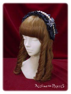 Alice and the Pirates Milky Rail Train Nella head dress style head bow