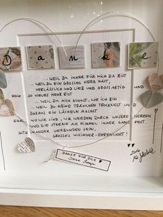 """Picture """"Thank you for your LOVE"""" UNIKAT incl. Frame and passepartout ❤️all my personal pictures are unmistakably marked with the """"WG ART handmade with love"""" fabric label. Diy Gifts For Friends, Diy Gifts For Kids, Easy Diy Gifts, Diy Gifts For Boyfriend, Gifts For Mom, Handmade Gifts, Diy Crafts To Do, Creative Crafts, Bff"""
