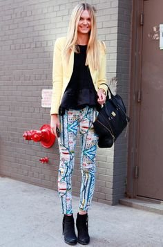 quilted pants, a must find