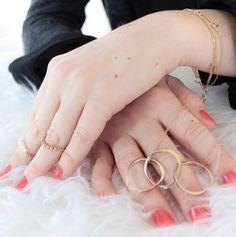 Golden Stars #ellijewelry