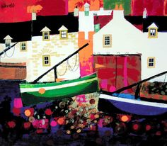 George Birrell - Low Tide Signed Limited Edition Print Unmounted Price:£130Mounted Price:£160Framed Price:£260Type: Print Size: 35 x 40 cm
