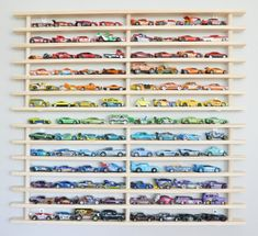 Where& my car? Two Tier Wall Garage (holds over 100 toy cars) – Mom! Where& My Car? Wheres my car? Two Tier Wall Garage (holds over 100 toy cars) – Mom! Wheres My Car? Hot Wheels Storage, Toy Car Storage, Hot Wheels Display, Album Design, Home Organization Wall, Toy Rooms, Trendy Home, Decoration, Bedrooms