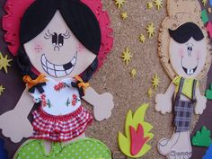 Resultado de imagem para decoração festa junina escola