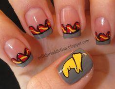 Disney Fashion Alert: 25 Awesome Disney Movie Nail Art Ideas Dumbo