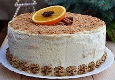 Творожный торт. Этот нежный и очень вкусный домашний торт всегда на моем праздничном столе. - У нас так
