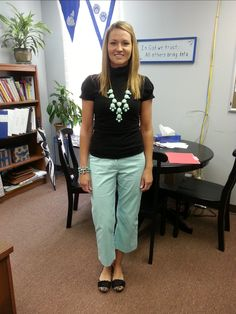 Teacher Clothing Blog- Mint.  She has excellent outfit ideas appropriate for work!