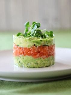 NATURE WHISPER: Alternative Appetizers: Avocado Salmon / Tuna Tartare