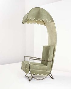 Lounge chair with canopy by Jean Royere , ca. 1959