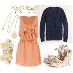 love this outfit for a wedding