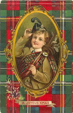 Vintage Scottish Postcard