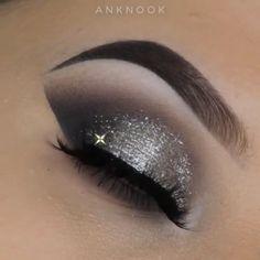 Tolle Make-up-Tutorials! - Make-up White Eye Makeup, Beautiful Eye Makeup, Awesome Makeup, Make Up Tutorial Contouring, Makeup Looks Tutorial, Makeup Videos, Makeup Tips, Beauty Makeup, Makeup Tutorials