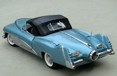 Franklin+Mint+Diecast+Cars | Franklin Mint 1:24 1951 GM LeSabre- Concept Car diecast car