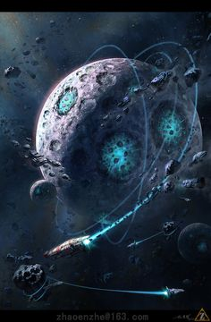 Journals - Your spot for viewing some of the best pieces and Community Posts on DeviantArt. Be inspired by a huge range of artwork from artists around the world. Dark Planet, Hard Science Fiction, Space Artwork, Robot Concept Art, Alien Worlds, Futuristic City, Alien Art, Universe Art, Cyberpunk Art