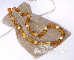 Lovely teething necklace