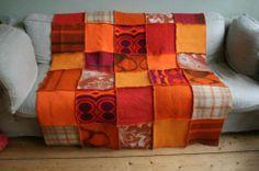 Recyclage van oude dekens