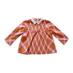 FRENCH VINTAGE 60/70's / kids / blouse / shirt / overall / checkered / Tergal / new old stock / size 1 year by Prettytidyvintage on Etsy https://www.etsy.com/listing/204113473/french-vintage-6070s-kids-blouse-shirt