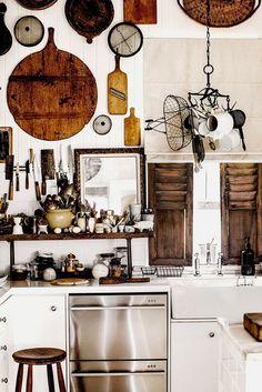 Driving to Fryerstown Victoria – Kara Rosenlund Kitchen Inspirations, Farmhouse Style Kitchen, Kitchen Dining, Kitchen Interior, Kitchen, Updated Kitchen, Kara Rosenlund, Kitchen Dining Room, Tuscany Style