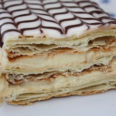Classic French Napoleons Recipe on Yummly. British Desserts, French Desserts, Köstliche Desserts, Delicious Desserts, Heath Desserts, Pretzel Desserts, Passover Desserts, Plated Desserts, Yummy Food