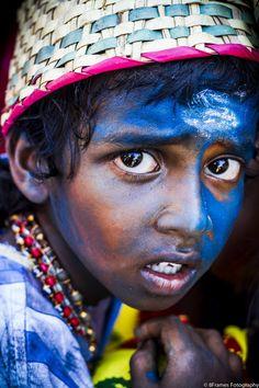 Boy of Tamil Nadu, India