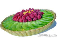 Tarta cu fructe Fruits And Veggies, Vegetables, Romanian Food, Tasty, Yummy Food, Raspberry, Cheesecake, Food And Drink, Desserts
