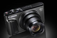 Calatoriti fara bagaj, cu cea mai subtire camera foto cu superzoom 40x de la Canon: PowerShot SX720 HS