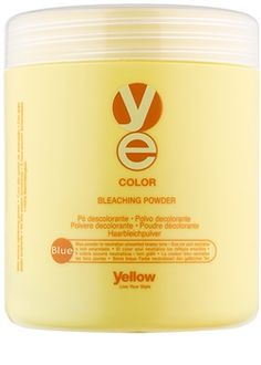 Alfaparf Milano Yellow Color pudră decolorantă pentru păr neutralizeaza tonurile de galben | aoro.ro