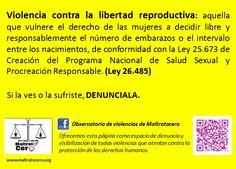 Violencia contra la libertad reproductiva