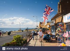 Uk; England; Norfolk; Hunstanton; Seaside; Town; Holiday; Summer ...